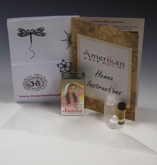 It makes enough henna paste to create over 100 henna tattoos. Kit Contains: