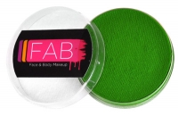 FAB Aquacolour Face and Body Paints Grass Green