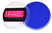 FAB Aquacolour Face and Body Paints Bright Blue