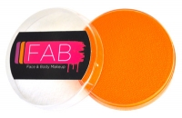 FAB Aquacolour Face and Body Paints Tiger Orange