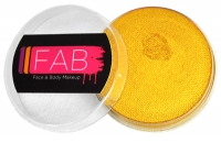 FAB Aquacolour Face and Body Paints Glitter Gold