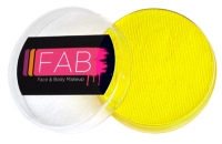 FAB Aquacolour Face and Body Paint Bright Yellow