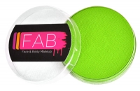 FAB Aquacolour  Face and Body Paints Lemon Lime