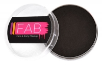 FAB Aquacolour Face and Body Paints Black