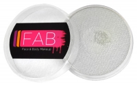 FAB Aquacolour Face and Body Paints Shimmer White