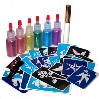 Glitter Tattoo Party Pack