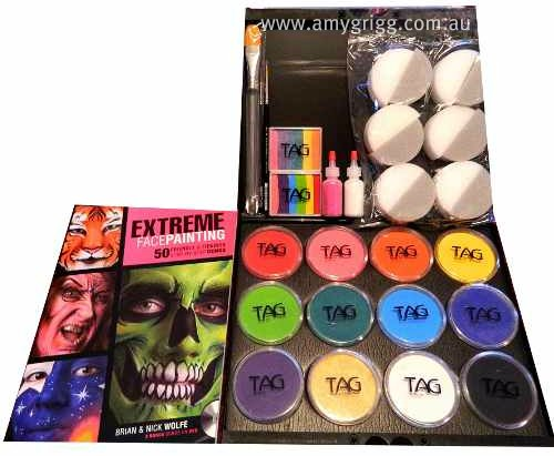 TAG Learn To Face Paint Kit