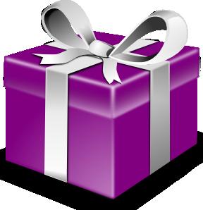 purple gift - Anjana :D