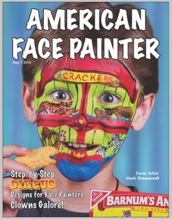 American Face Painter Circus Issue