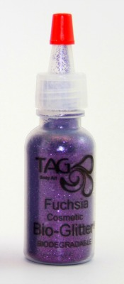 TAG Bioglitter Fuchsia Purple in Puffer Bottle 15ml