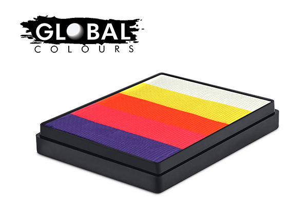 Global 50g Rainbow Cake Caribbean