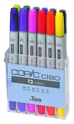 Copic Ciao Marker Set 12B