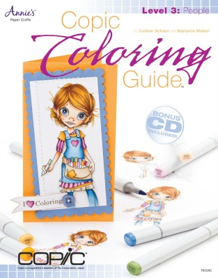 Copic Colouring Guide No.3 People