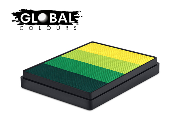 Global Rainbow Cake 50g Everglades