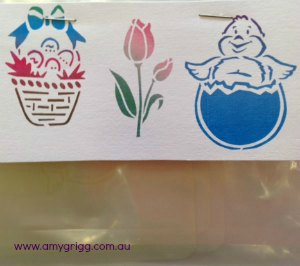 Face Painting Stencils Easter Pack#2
