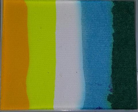 Face Paints Australia Mermaid Rainbow Cake 50g