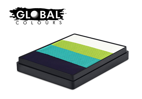 Global Rainbow Cake 50g Greenland