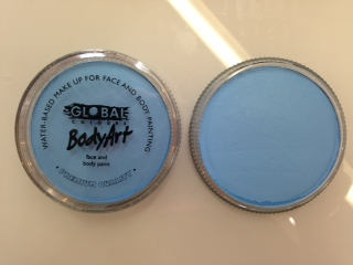 Global Body Art Makeup Baby Blue 32g