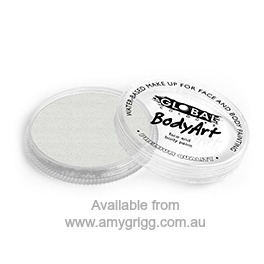 Global BodyArt Makeup Pearl white