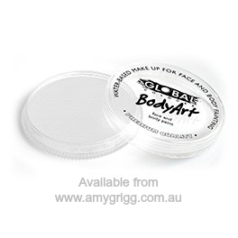 Global Body Art Makeup Neon White