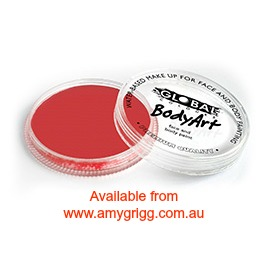 Global Body Art Makeup Red 32g