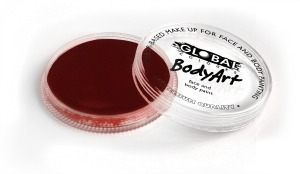 Global Body Art Makeup Deep Merlot 32g