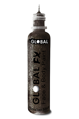 Global FX Glitter Gel Jet Black 36ml