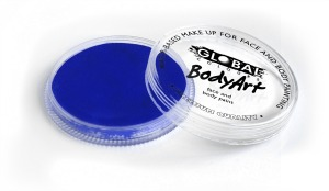 Global Body Art Makeup Pearl Deep Blue 32g