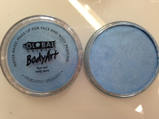 Global Body Art Makeup Pearl Baby Blue 32g