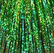 Amerikan Body Art Hair Tinsel Colour F- Sparkle Hollographic Green