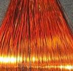 Amerikan Body Art Hair Tinsel Colour D- Metallic Orange