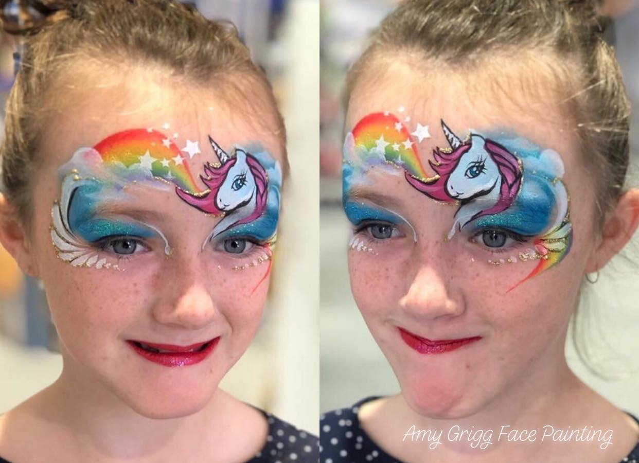 Special event! Unicorns and other magical creature face painting class