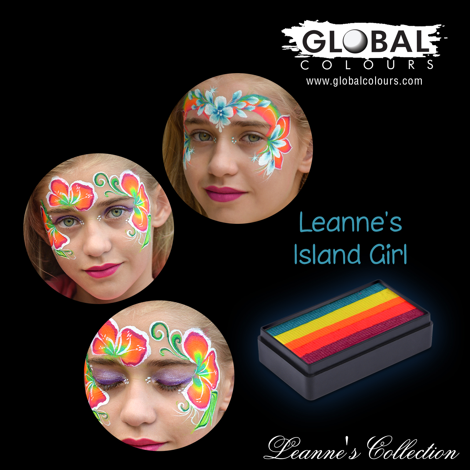 Global Funstroke Leannes Collection- Island Girl