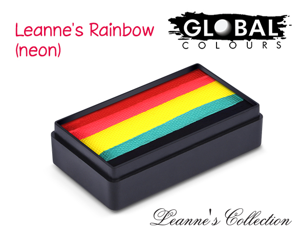 Global Funstroke 30g Leannes Rainbow Neon