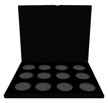 Paradise Pro Pallette (12 spaces) Empty
