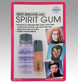 Mehron Spirit Gum and Remover
