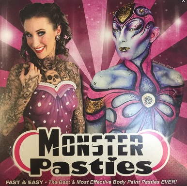 Monster Pasties Breast Covers