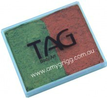 TAG 50g Split cake Pearl Bronze Green and Pearl Copper