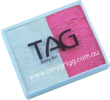 TAG 50g Split Cake Pearl Rose and Pearl White