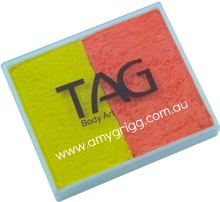 TAG 50g Split Cake Pearl Yellow and Pearl Orange
