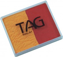 TAG 50g Split Cake Regular Golden Orange and Red