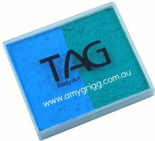 TAG 50g Split Cake Regular light Blue and Teal