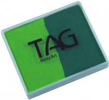 TAG 50g Split Cake Regular Light Green and Green