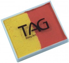 TAG 50g Split Cake Regular Orange and Yellow