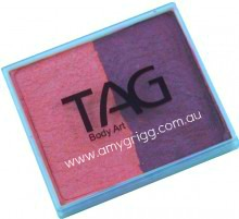 TAG 50g Split Cake Pearl Blush and Pearl Berry Wine