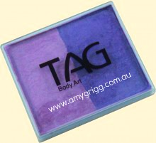 TAG 50g Split Cake Pearl Lilac and Pearl Purple