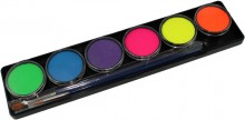 TAG 6 Colour Neon Pallette