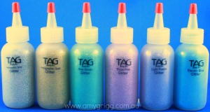 TAG Glitter PAck Pastels