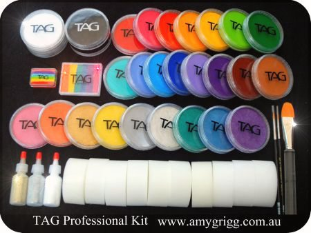 Amy grigg face painting and supplies for Face paints supplies
