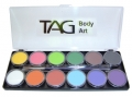 TAG Face and Body Paints- 12 Colour Pallette